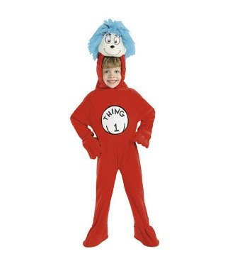 Rubies Costume Company Thing 1 - Child 4-6