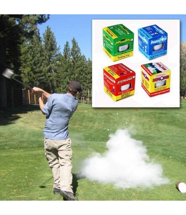 Awesome Foursome Trick Golf Ball Assortment Set by Trick Golfball Company Ltd.