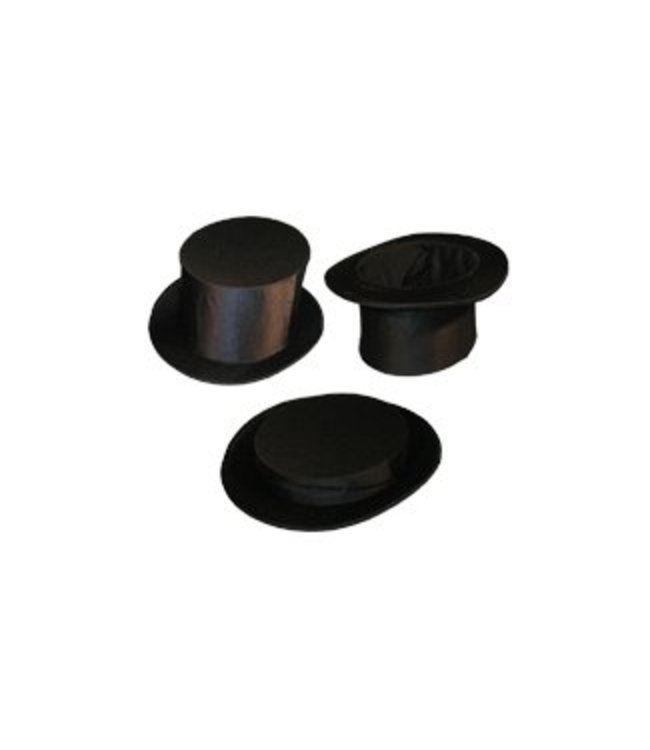 Forum Novelties Collapsible Fabric Top Hat Adult