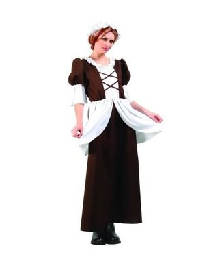 RG Costumes And Accessories Colonial Lady - Adult Standard 10-12