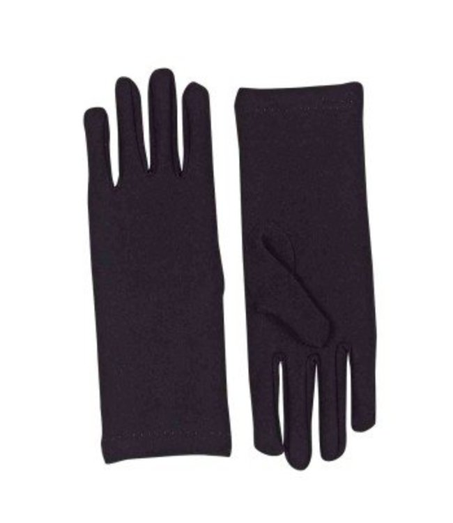 Forum Novelties Gloves Wrist, Black - Adult