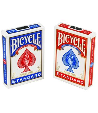 United States Playing Card Company Card- Bicycle, Poker - Red (M8)