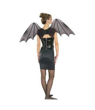 Rubies Costume Company Chiffon Bat Wings Light and Full 36 inch wide 2 feet tall