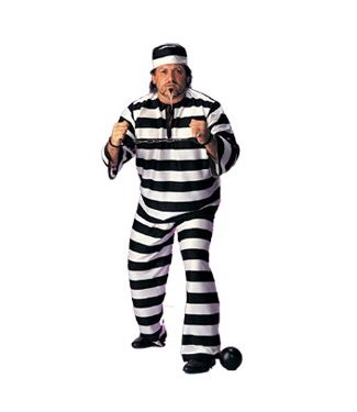 Rubies Costume Company Convict Man - Plus Size