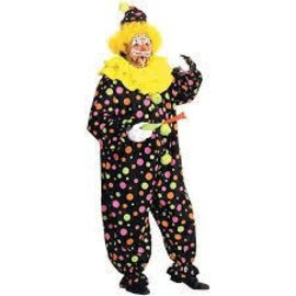Rubies Costume Company Deluxe Clown - Plus Size full figure 42-50
