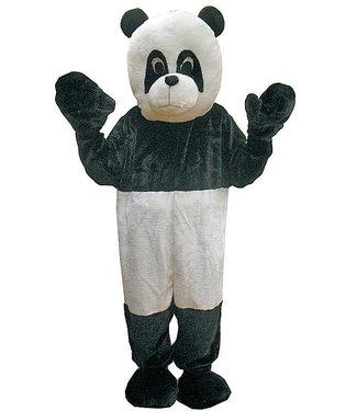 Dress Up America Panda Bear Mascot - Adult