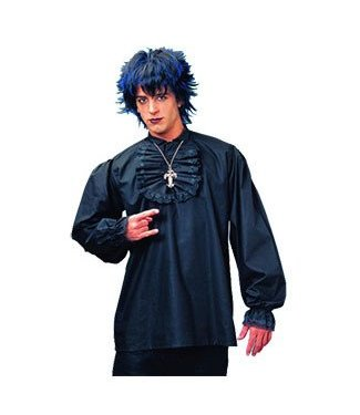 Costume Culture by Franco American Ruffled Shirt - Black