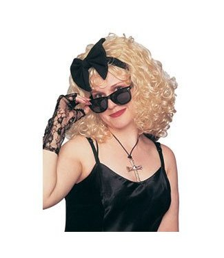 Costume Culture by Franco American 80's Pop Star Wig (Madonna)