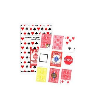 21st Century Fa-Ko Deck With Book by Haines House Of Cards (M10)