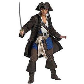 Disguise Captain Jack Sparrow, Prestige - Adult XL 42-46