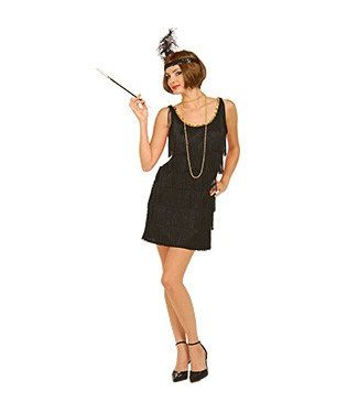 Forum Novelties Flapper Black - Adult M/L