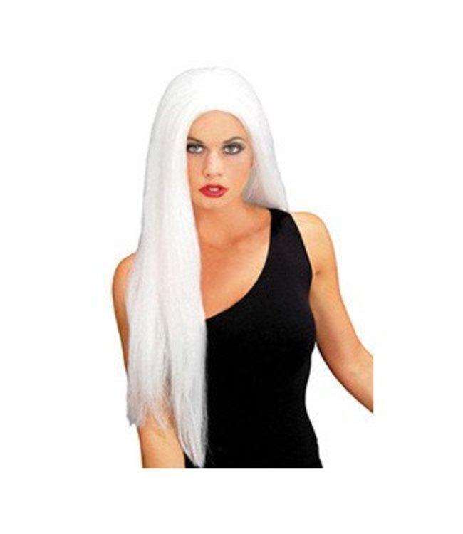 Forum Novelties Long Angel, White - Wig