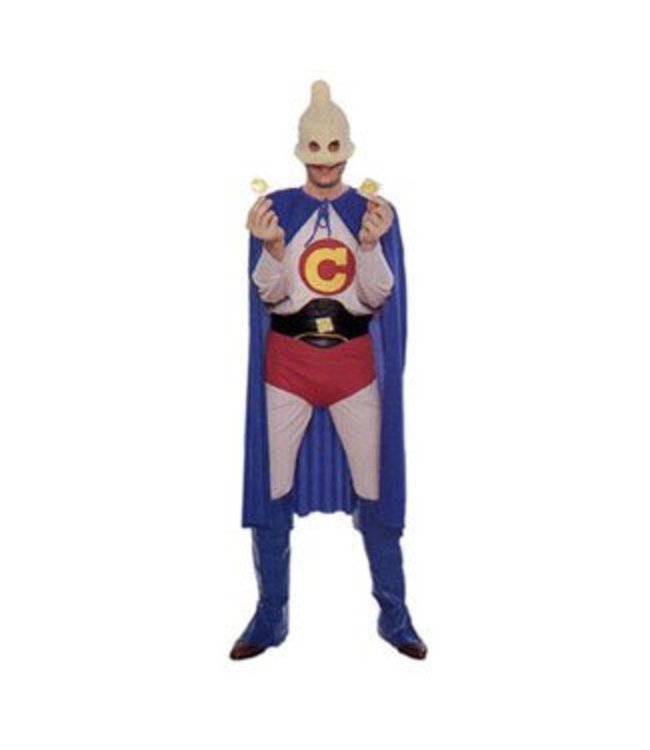 Forum Novelties Captain Condom - Adult Standard Size  (347)