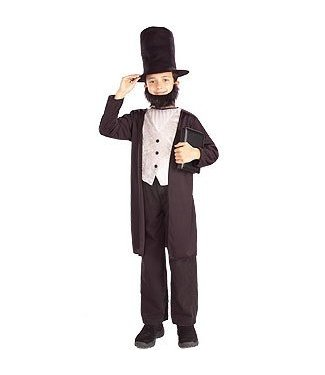 Forum Novelties Abraham Lincoln Child Large 12-14