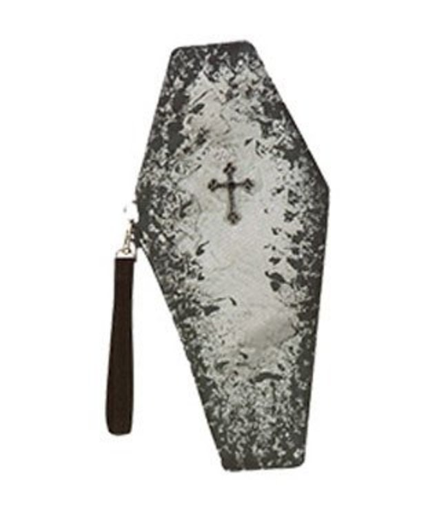 Rasta Imposta Coffin Clutch Costume Handbag