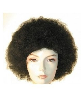 Morris Costumes and Lacey Fashions Afro Bargain,  Med Brown - Wig