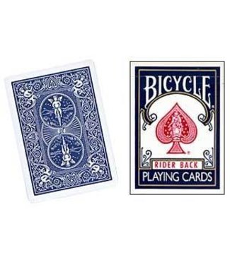 United States Playing Card Compnay Card - Bicycle Box, Old Style Empty - Blue (M10)