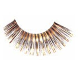 Red Cherry Eyelashes Black/Gold C209