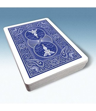United States Playing Card Company Bicycle Playing Cards 809 Mandolin Back (Blue) by USPCC