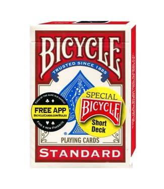 United States Playing Card Compnay Card - Bicycle Short Deck, Red (M10)