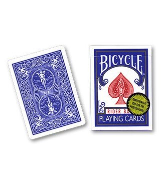 United States Playing Card Company Card Bicycle, Gold Standard - Blue by Richard Turner - Trick