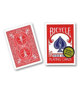 United States Playing Card Company Card Bicycle, Gold Standard - Red by Richard Turner - Trick