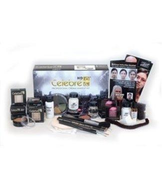 Mehron Celebre Makeup Kit - Dark Complexion