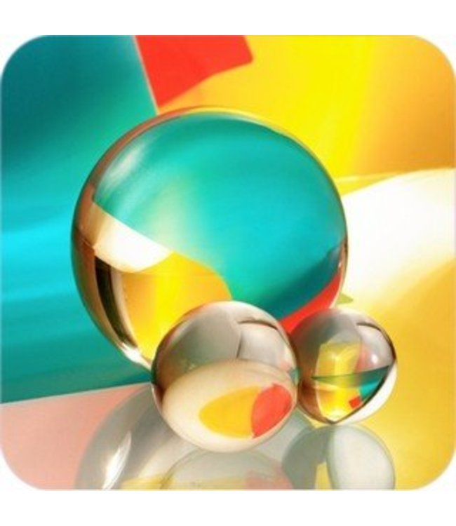 Clear Crystal Ball 3 inch - 80mm by Amlong Crystals (901)