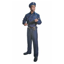 Dress Up America Police Man Adult Extra Large