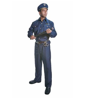 Dress Up America Police Man Adult  XXL