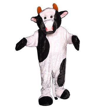 Dress Up America Cow Mascot - Adult