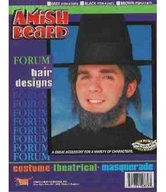 Forum Novelties Amish Beard - Grey