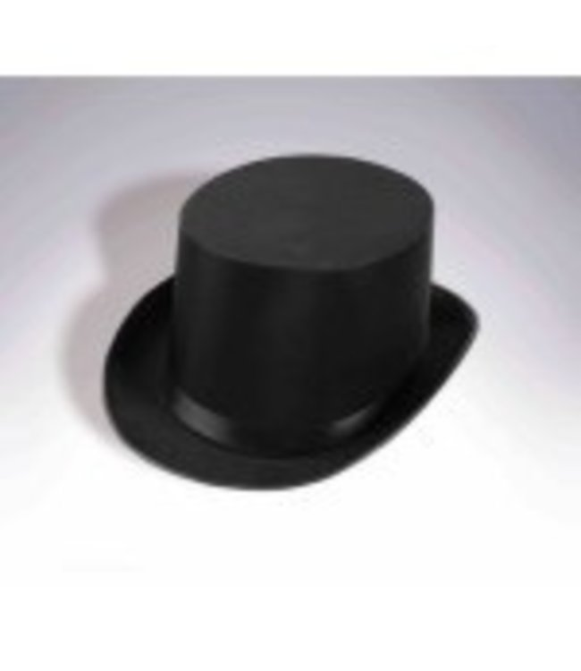 Forum Novelties Deluxe Black Satin Top Hat
