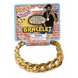 Forum Novelties Big Links Bracelet - Gold (C4)