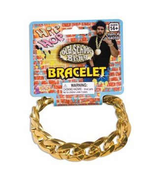 Forum Novelties Big Links Bracelet - Gold (C4)