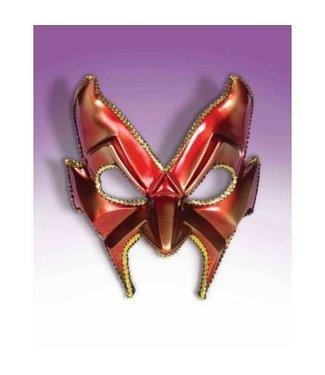 Forum Novelties Devil Man Half Mask - Red FO-101