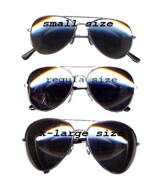 Aviator - Police Glasses Small