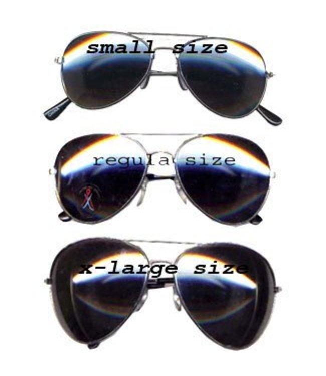 Aviator - Police Glasses XL