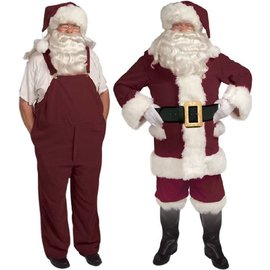 Halco Old Tyme Santa Suit w/Overalls - 42-48 (/199)