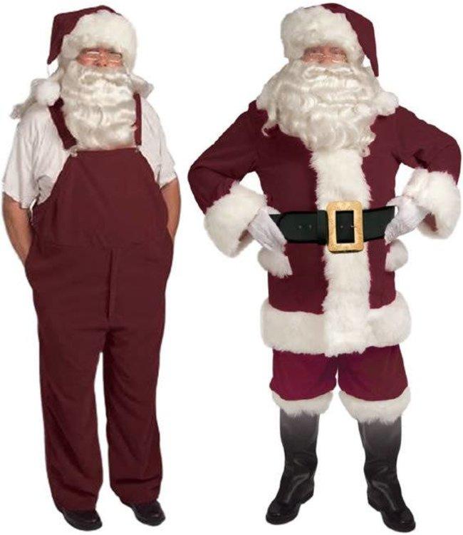 Halco Old Tyme Santa Suit w/Overalls - 42-48 (/199)