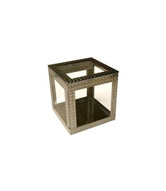 Crystal Clear Cube 4 inch, Silent by Ickle Pickle Products(M10)