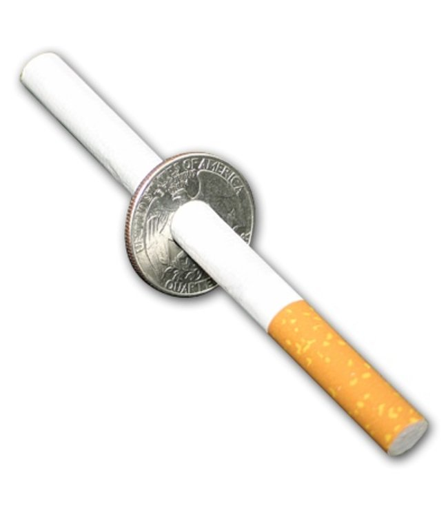 Cigarette Thru Quarter by Johnson Products (M10)