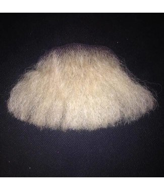 Morris Costumes and Lacey Fashions 3 Point Beard Blonde 22 - Human Hair