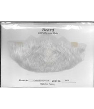 Morris Costumes and Lacey Fashions Beard 5 Point White