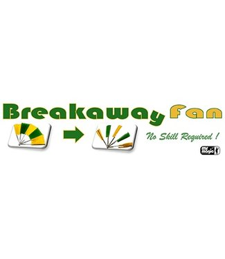 Breakaway Fan Stainless Steel by Mr. Magic  (M12)