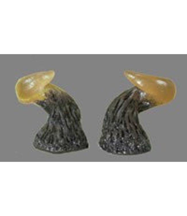 Pans House Of Horns Horns Aries - Amber