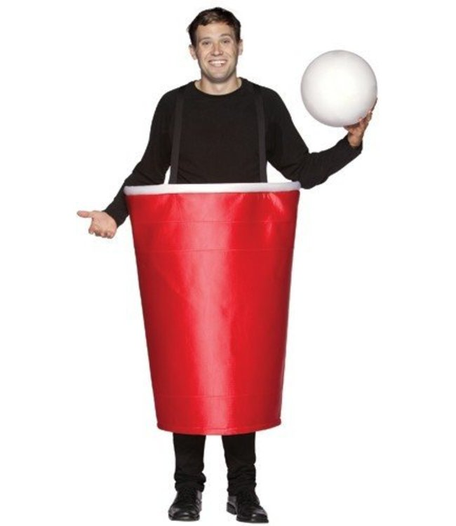 Beer Pong Red Cup Costume