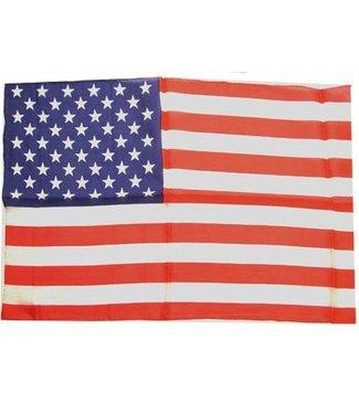 Silk - American Flag 14 inch x20 inch by Royal Magic