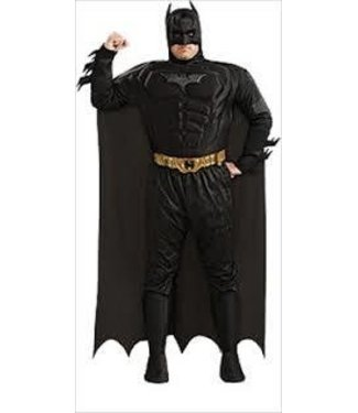 Rubies Costume Company Deluxe Muscle Chest Batman - Plus Size