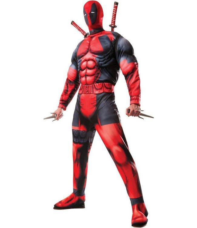 Rubies Costume Company Deadpool Deluxe  - Adult Standard 44